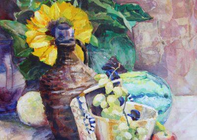 1350 Blumen und Früchten Acryl