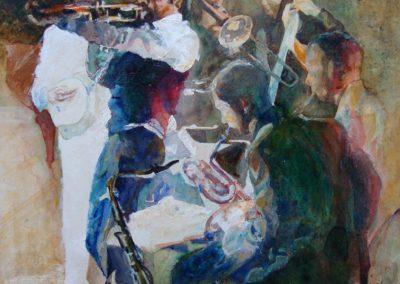 1158 Jazz Band Acryl