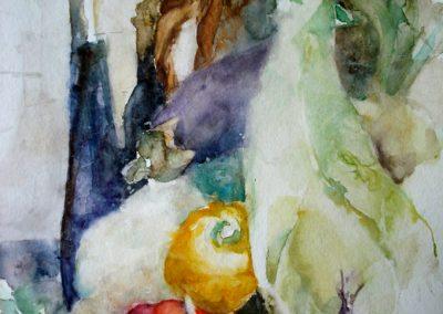 1104 Gemüse Aquarell
