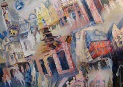 1433 Das neue Altstadtviertel Acryl