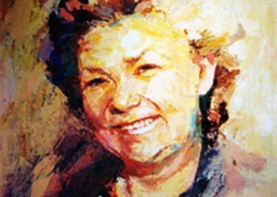 0989 Frau Krup Acryl