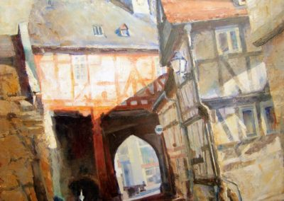 1343  Altes Rathaus Königstein Acryl