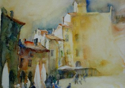 0968 Merkato Lucca Aquarell