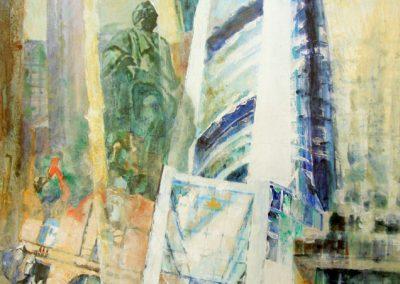 1259  Kommerzbank Turm Acryl